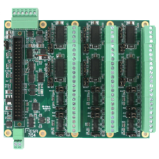 7I54  Hex 100 Watt H-bridges for Mesa 50 pin I/O FPGA cards