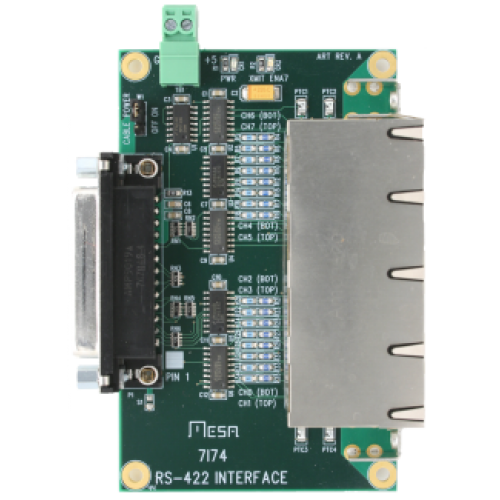 7I74 Eight Channel RS-422/485 interface/ RJ45 Breakout