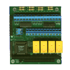 ISIO-T-RM Low cost isolated I/O driven by printer port