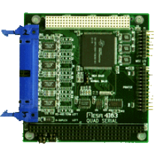 4I63C PC/104-PLUS quad serial + parallel