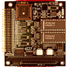 4I27 2 axis servo motor controller card (PWM), Socketed LM629 chips are not lead free
